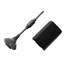Play & Charge Kit pack De Batteries Rechargeables Noir