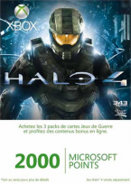 Xbox Live 2000 Points Halo 4