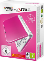 New Nintendo 3DS XL Blanche/Rose