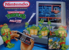 Nintendo Teenage Mutant Hero Turtles Package