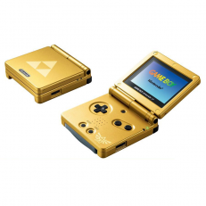 Gameboy Advance SP Zelda Edition
