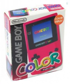 Game Boy Color Pink