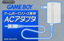 AC Adaptor Game Boy