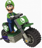 Mario Kart Standard Bike Building Set LUIGI