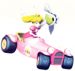 Pull Back Action Mario Kart DS ~ Peach Royale ~