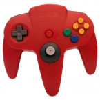 Classic Controller Nintendo 64 RED