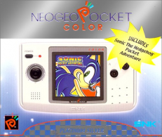 Neo Geo Pocket Color Sonic Limited Edition