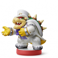 Amiibo Collection Super Mario Bowser (Tenue de mariage)