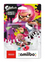 Amiibo Splatoon 2 Fille Inkling Rose Néon