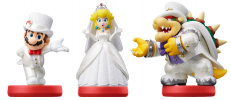 Amiibo 'Collection Super Mario' Bowser+Mario+Peach