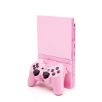 PlayStation Two Pink + 2 Manettes