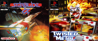 Twisted Metal + Starblade Alpha