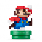 Amiibo Super Smash Bros: Mario 30th Bleu