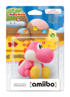 Amiibo Yoshi's Woolly World Collection Rose
